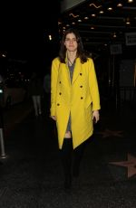 ALEXADRA DADDARIO Leaves Fonda Theatre in Hollywood 03/08/2019