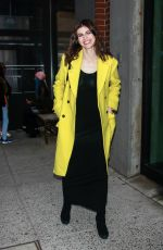 ALEXANDRA DADDARIO Arrives at DKNY Sports Event in New York 03/28/2019