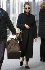 ALICIA VIKANDER at JFK Airport in New York 03/06/2019