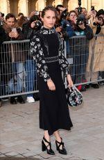 ALICIA VIKANDER at Louis Vuitton Show at Paris Fashion Week 03/05/2019