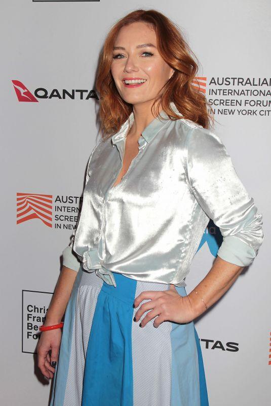 ALISON MCGIRR at Ladies in Black Premiere at Australian International Screen Forum in New York 03/20/2019