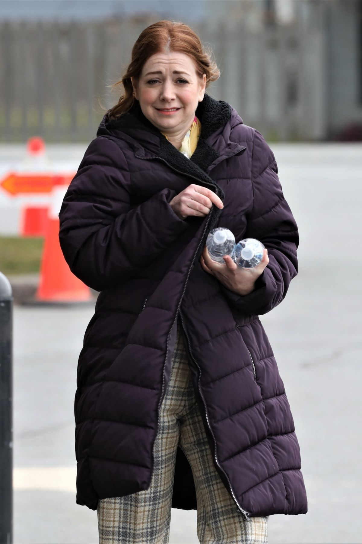 Filming In Progress The Most Beautiful Actress In The World: ALYSON HANNIGAN Out Filming In Vancouver 03/15/2019