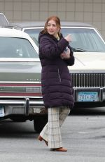 ALYSON HANNIGAN Out Filming in Vancouver 03/15/2019