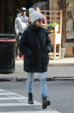 AMANDA SEYFRIED Out and About in New York 03/12/2019