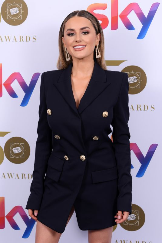 AMBER DAVIES at Tric Awards 2019 in London 03/12/2019