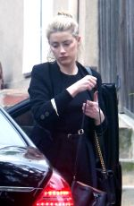 AMBER HEARD at a Business Meeting in Los Angeles 03/21/2019