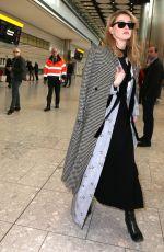 AMBER HEARD at Heathrow Airport in London 03/06/2019