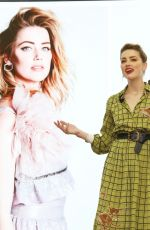 AMBER HEARD at Marie Claire International Women