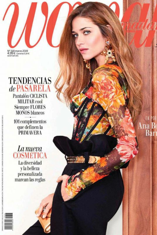 ANA BEATRIZ BARROS in Woman Madame Figaro, March 2019