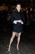 ANA GIRARDOT at Isabel Marant Fashion Show at PFW in Paris 02/28/2019