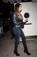 ANASTASIA KARANIKOLAOU at Delilah Nightclub in West Hollywood 03/08/2019