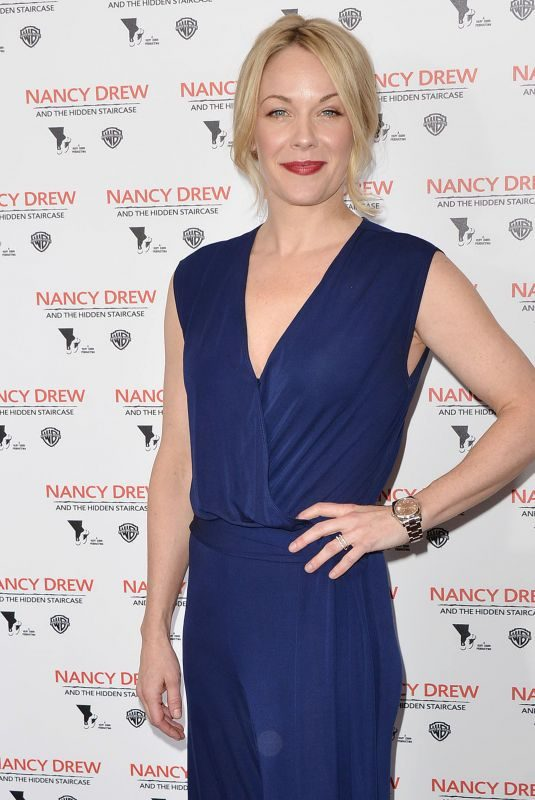 ANDREA ANDERS at Nancy Drew and the Hidden Staircase Premiere in Century City 03/10/2019