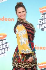 ANDREA BARBER at Nickelodeon