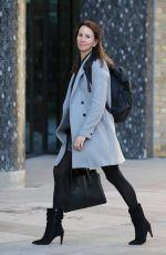 ANDREA MCLEAN Arrives at ITV Studios in London 03/11/2019