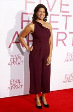 ANDREA NAVEDO at Five Feet Apart Premiere in Los Angeles 03/07/2019