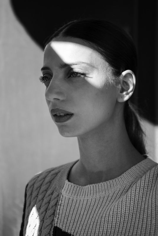 ANGELA SARAFYAN for WWD, February 2019
