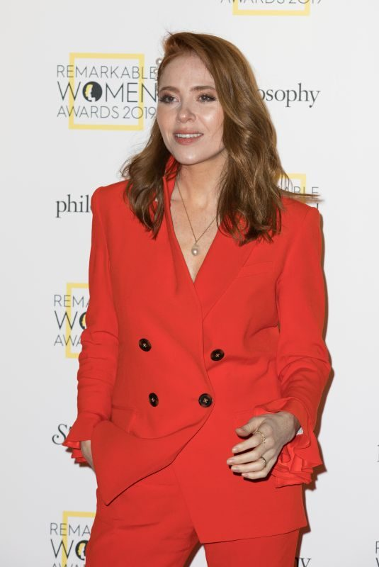 ANGELA SCANLON at Remarkable Women Awards in London 03/05/2019