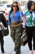 ANGELA SIMMONS Out and About in Beverly Hills 03/20/2019