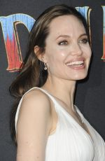 ANGELINA JOLIE at Dumbo Premiere in Los Angeles 03/11/2019