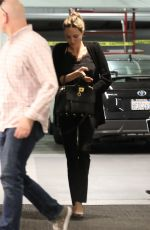 ANGELINA JOLIE Heading to a Meeting in Beverly Hills 03/14/2019