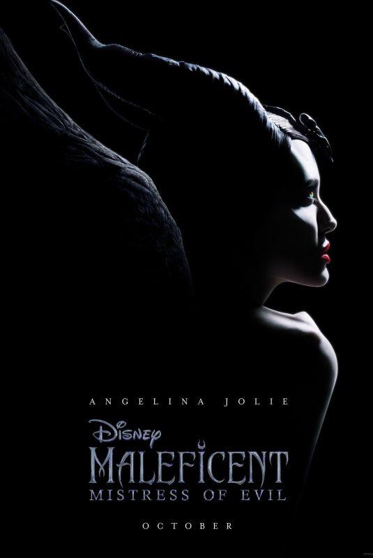 ANGELINA JOLIE - Maleficent: Mistress of Evil 2019 Poster