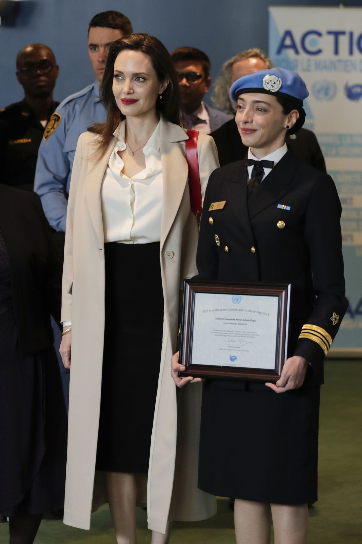 ANGELINA JOLIE Speech at Sexual Violence in Conflict ...