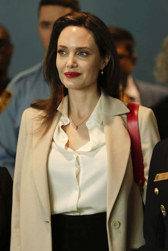 ANGELINA JOLIE Speech at Sexual Violence in Conflict Conference at United Nations in New York 03/29/2019