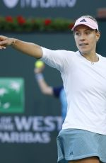 ANGELIQUE KERBER at 2019 Indian Wells Masters 1000 03/14/2019
