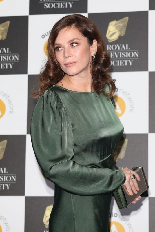 ANNA FRIEL at Royal Television Society Programme Awards in London 03/19/2019