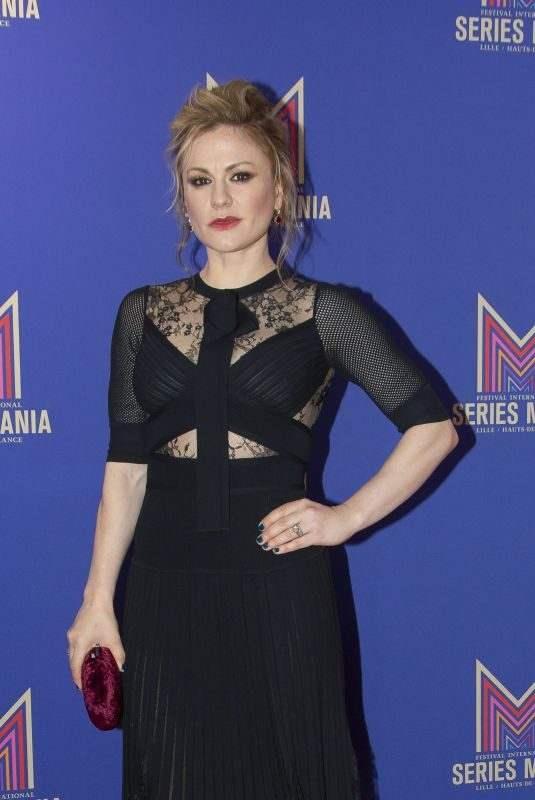 ANNA PAQUIN at Flack Talk at Series Mania Festival in Lille 03/23/2019