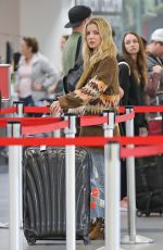 ANNABELLE WALLIS at Los Angeles International Airport 03/02/2019