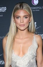 ANNALYNNE MCCORD at Barbershop Cuts and Cocktails Opening, Day 2 in Las Vegas 03/16/2019