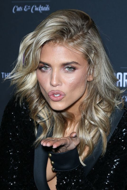 ANNALYNNE MCCORD at Barbershop Cuts and Cocktails Opening Weekend in Las Vegas 03/15/2019