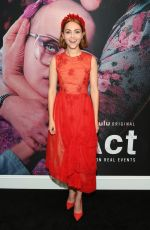 ANNASOPHIA ROBB at The Act Premiere in New York 03/14/2019
