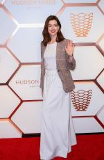 ANNE HATHAWAY at Hudson Yards VIP Grand Opening in New York 03/14/2019