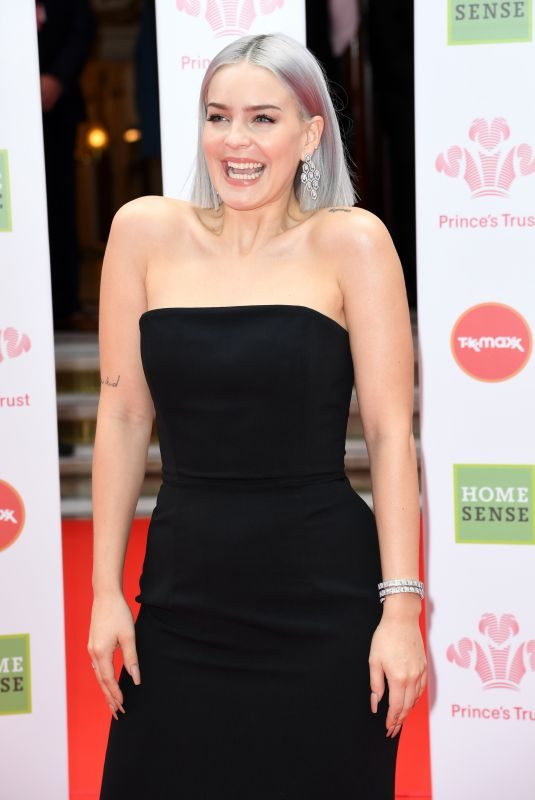 ANNE MARIE at The Prince's Trust, Tkmaxx and Homesense Awards in London 03/13/2019