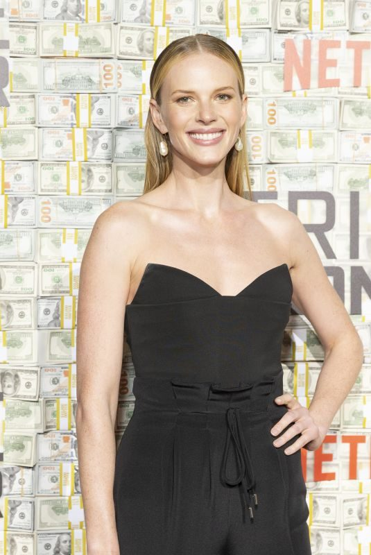 ANNE VYALITSYNA at Triple Frontier Premiere in New York 03/03/2019
