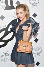 ANNE WINTERS at MCM Global Flagship Store Opening on Rodeo Drive in Beverly Hills 03/14/2019