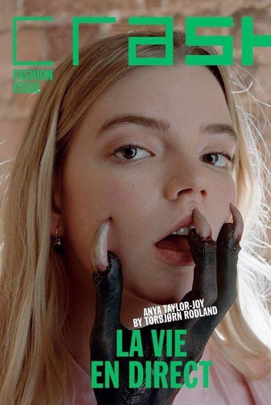 ANYA TAYLOR JOY in Crash Magazinem Fashion 2019 Issue