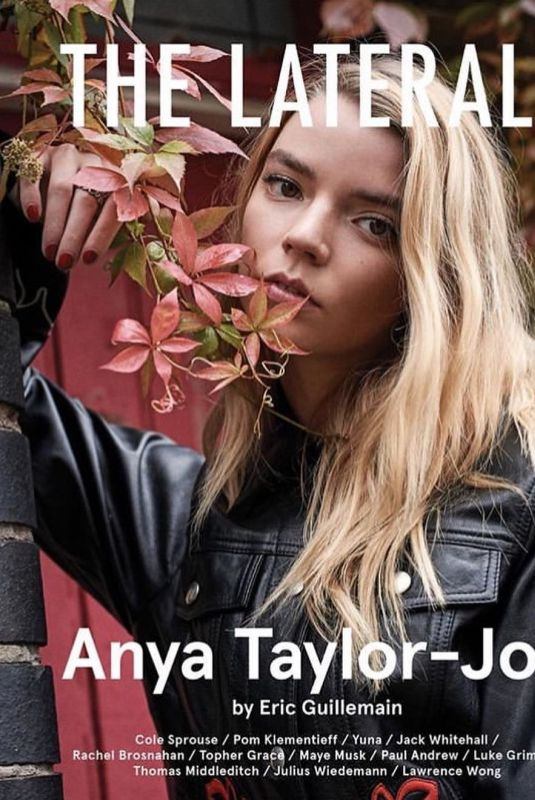 ANYA TAYLOR-JOY in The Laterals Issue #2, 2019