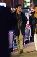 ARIANA GRANDE and Graham Phillips Night Out in New York 03/09/2019