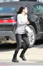 ARIEL WINTER Leaves a Music Studio in Studio City 03/09/2019