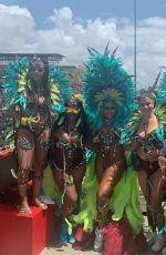 ASHANTI at Carnival in Trinidad and Tobago 03/09/2019