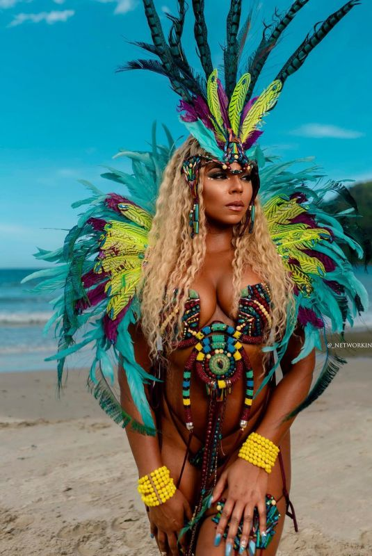 ASHANTI at Carnival in Trinidad and Tobago 03/09/2019