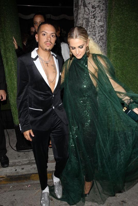 ASHLEE SIMPSON and Evan Ross at Diana Ross 75th Birthday Bash in Hollywood 03/26/2019