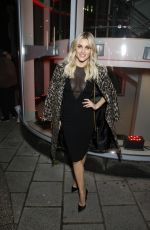 ASHLEY ROBERTS Arrives at Shaw Theatre in London 03/13/2019