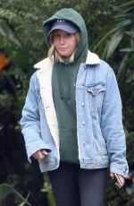 ASHLEY TISDALE Out and About in West Hollywood 03/06/2019