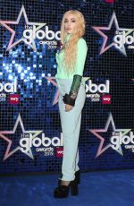 AVA MAX at Global Awards 2019 in London 03/07/2019