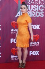 BABY ARIEL at Iheartradio Music Awards 2019 in Los Angeles 03/14/2019
