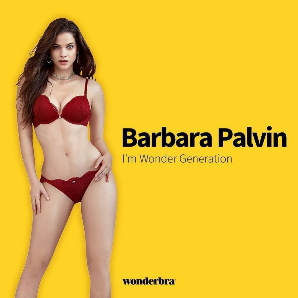 BARBARA PALVIN for Wonderbra 2019 Campaign – HawtCelebs